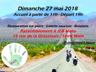 Balade caritative 25 mai 2018