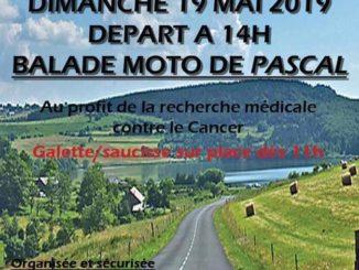 Balade caritative 19 mai 2019