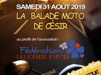 Balade caritative 31 août 2019
